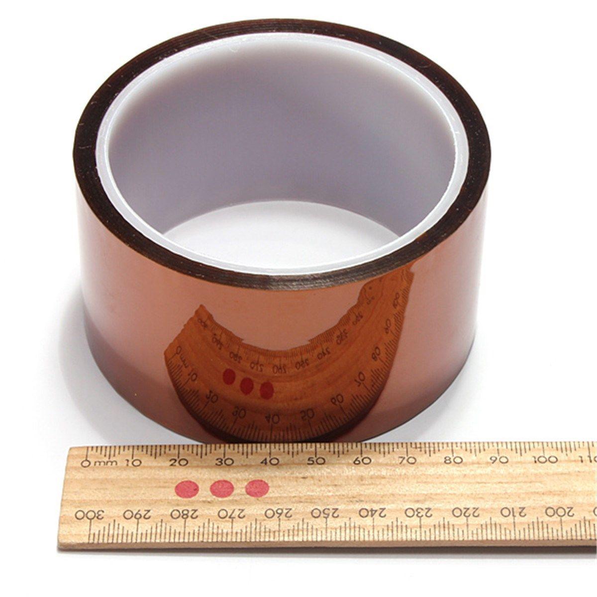 Heißer Verkauf 50mm * 100ft einseitig selbstklebende Hochtemperatur Heat Resistant Polyimid-band für BGA PCB SMT Löten Abschirmung