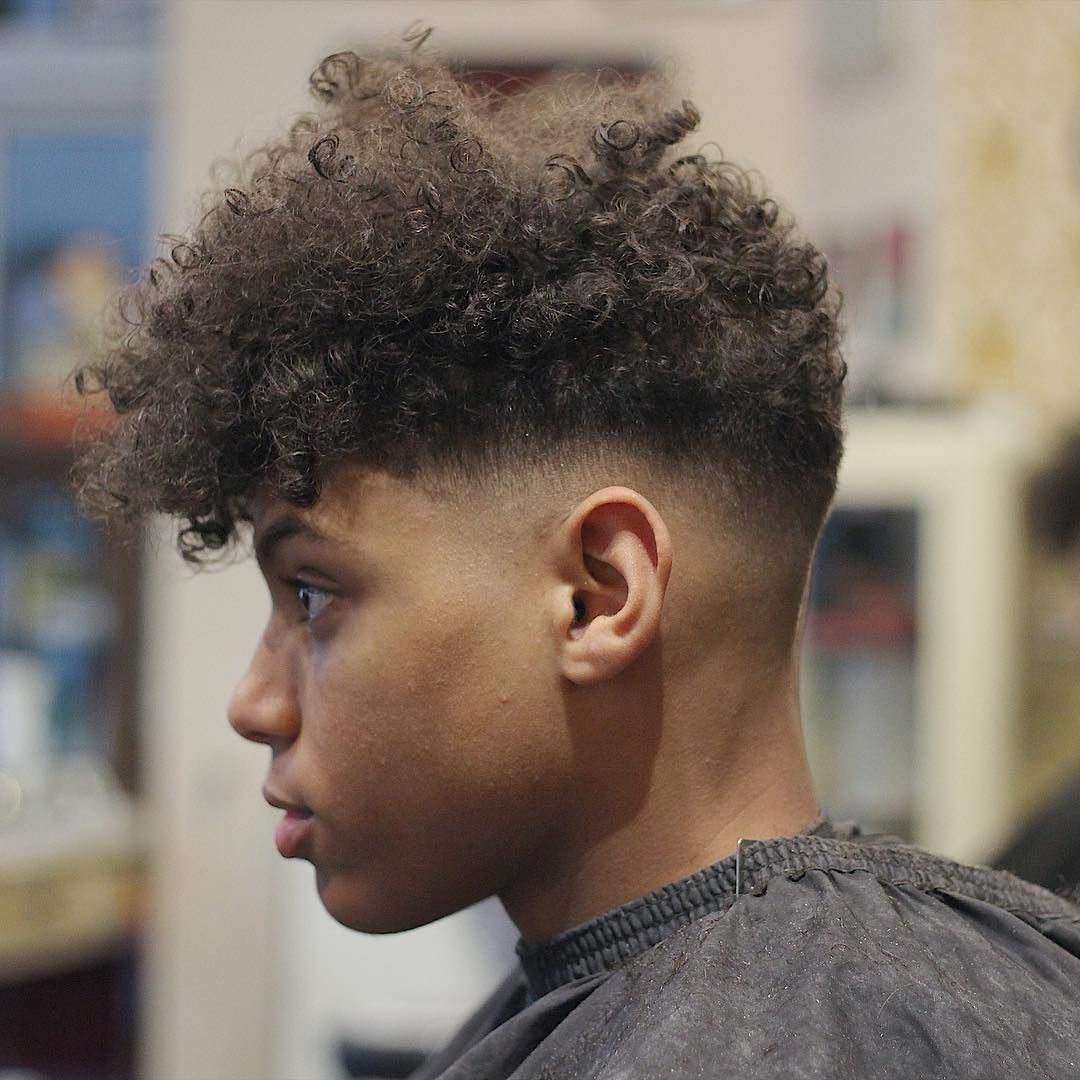 45 Different Fade Haircuts Men Should Try In 2020 Men S Curly Hairstyles Low Fade Haircut Curly Hair Fade