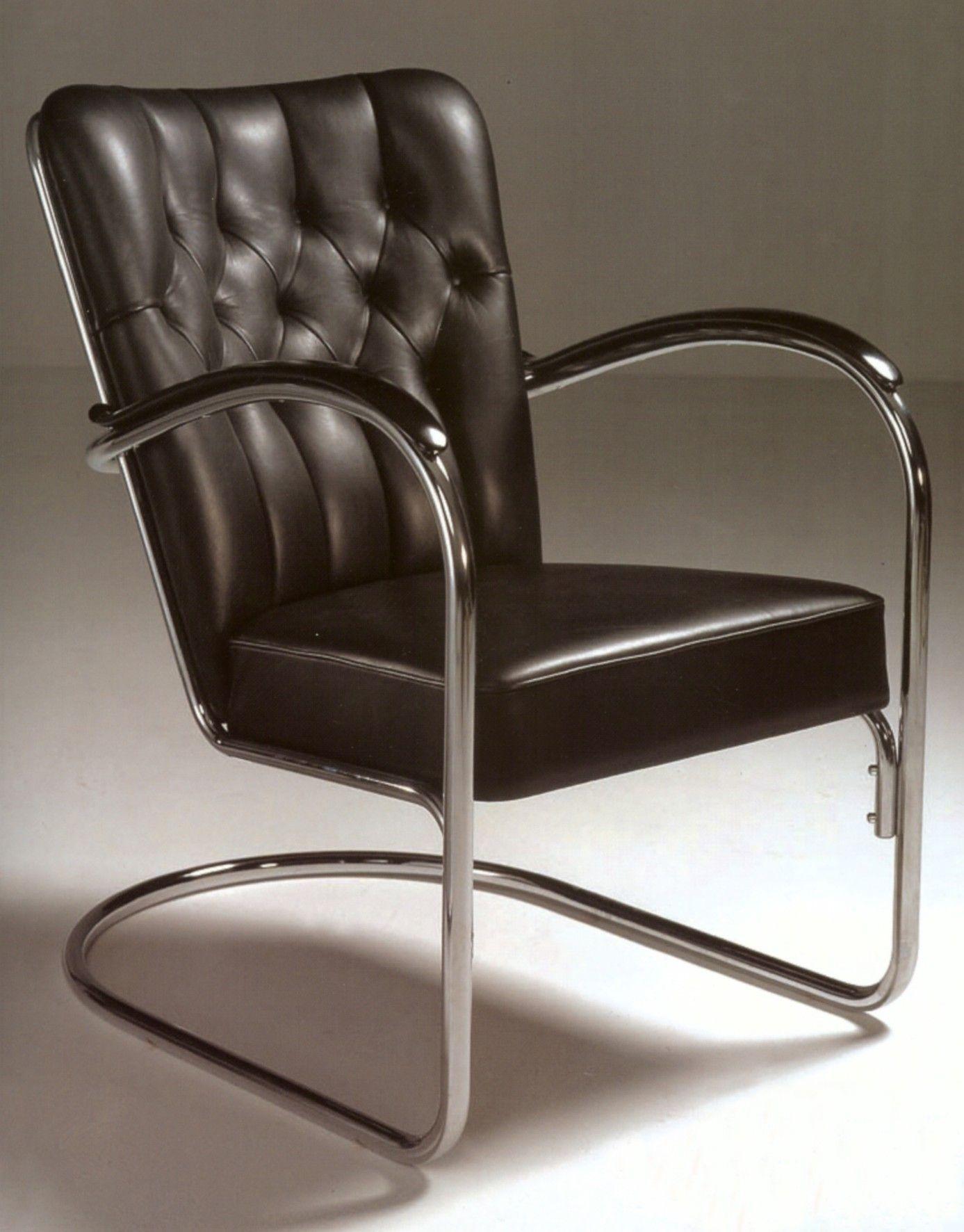 Gispen stoel furniture pinterest bauhaus steel for Bauhaus stoel vintage