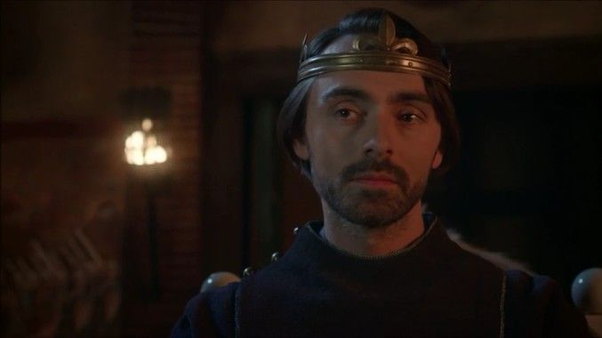David Dawson as King Alfred in The Last Kingdom season 2