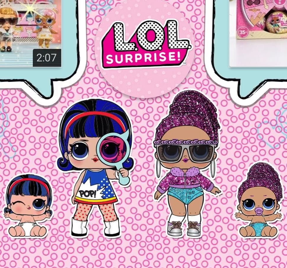 Lil pop heart pop heart bling queen lil bling queen were revealed at the end of the glam glitter video on lolsurprise official youtube channel