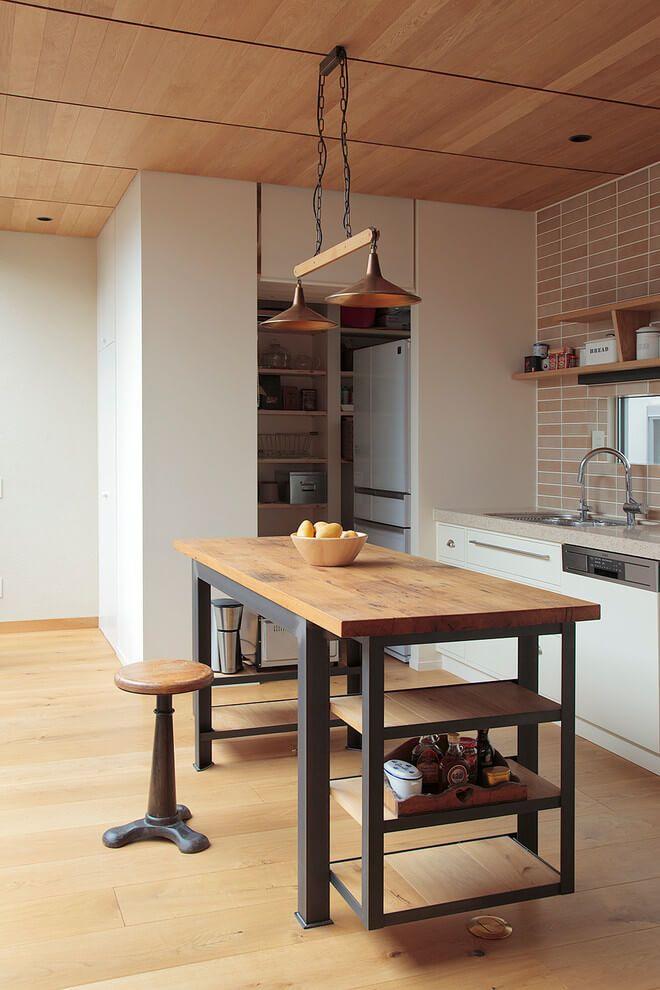 House In Tokyo By Kodikodi Cocina Estilo Industrial