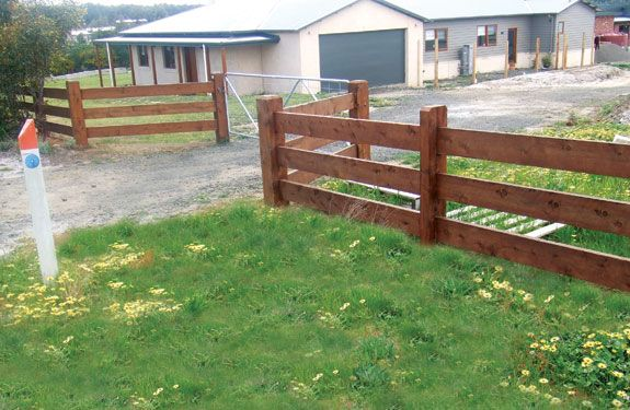 Click on image to go back post and rail fence
