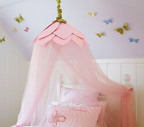 Pb Knock Off Rose Petal Canopy Canopy Bed Diy Fairy
