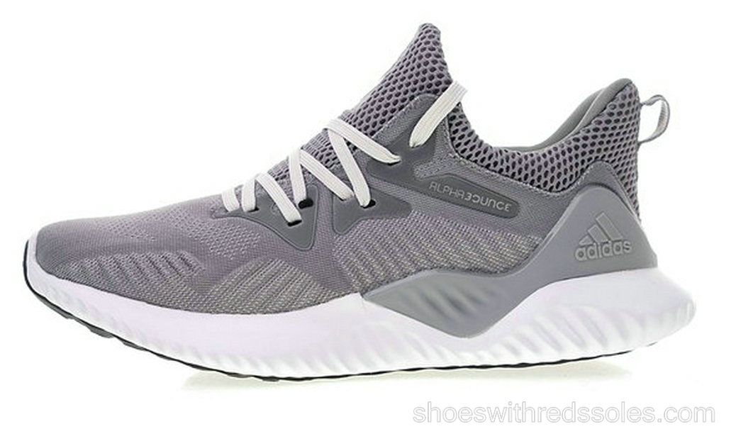official photos c04c7 b6823 adidas Alphabounce Reflective Grey BY4327 grey white