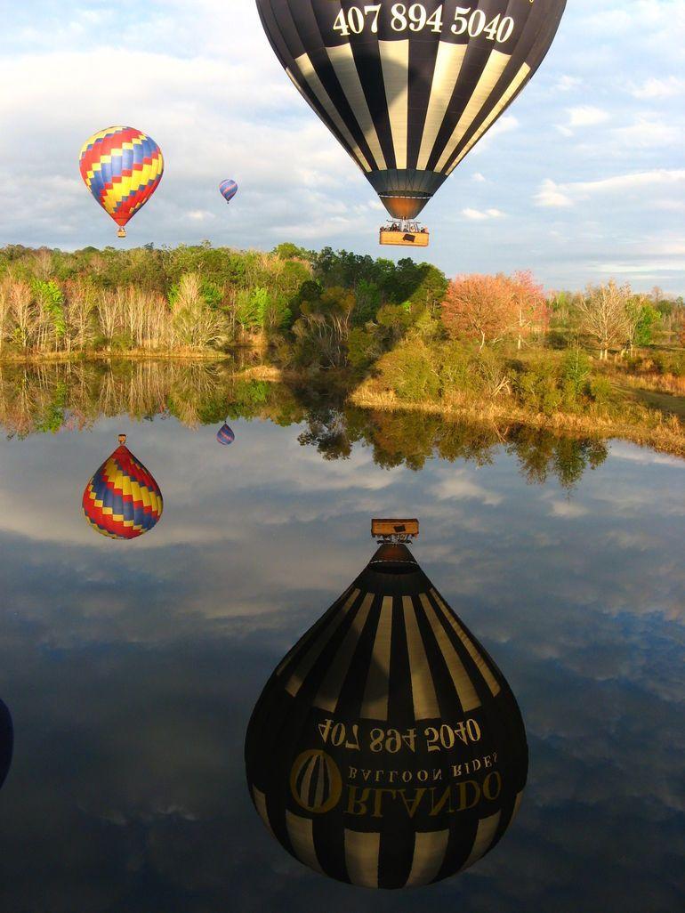 Orlando Sunrise HotAir Balloon Ride Hot air balloon