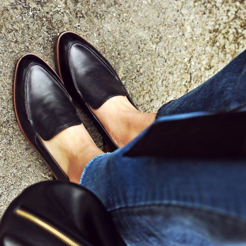 Pointed Toe Vintage Comfortable Flats