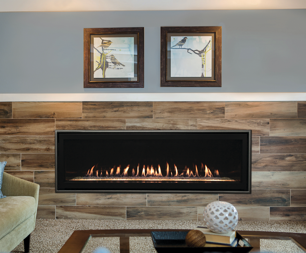"""Empire Boulevard 60"""" Direct-Vent Linear Fireplace - Embers ... on Embers Fireplaces & Outdoor Living id=41014"""