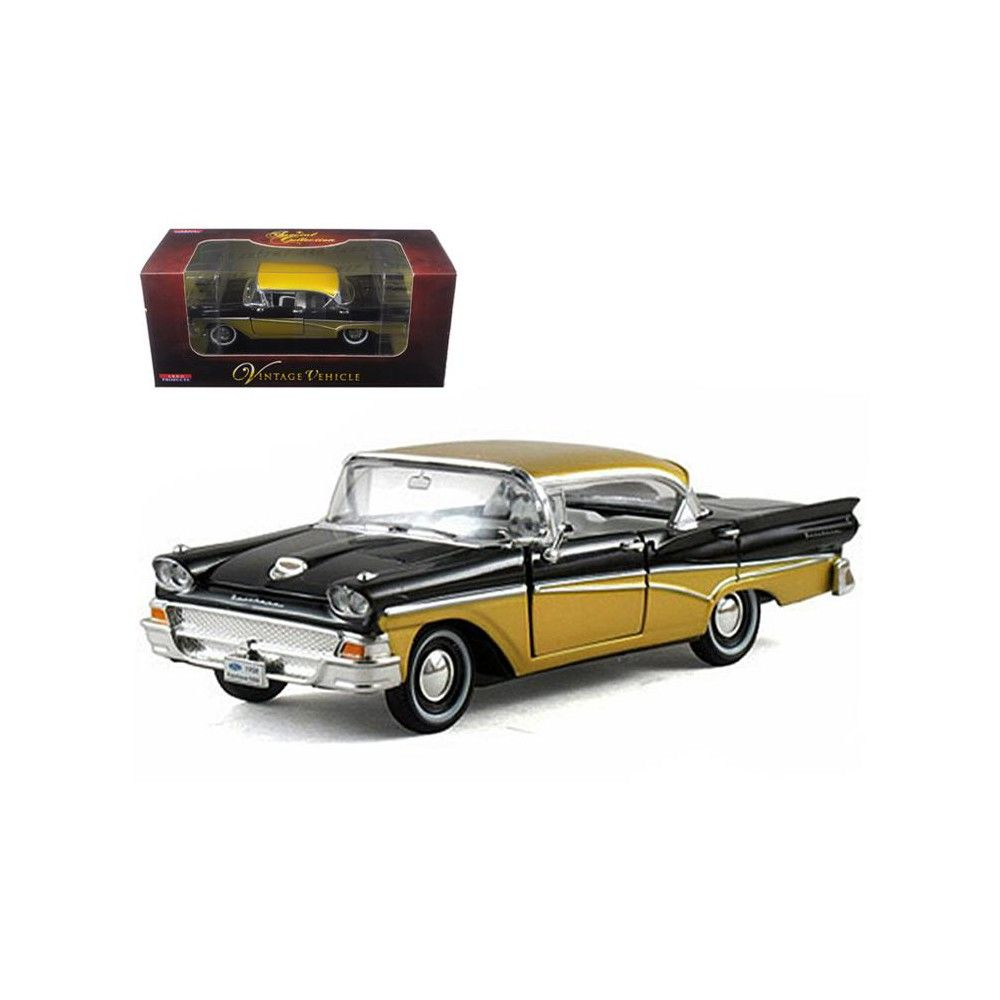 Tantra chair dimensions   Ford Fairlane Black  Diecast Car Model by Arko Products