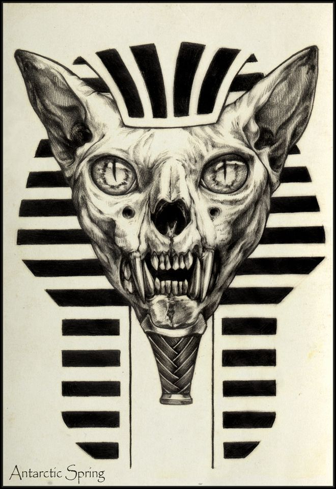 Sphinx By Antarcticspring On Deviantart Egyptian Cat Tattoos Egypt Tattoo Egyptian Tattoo