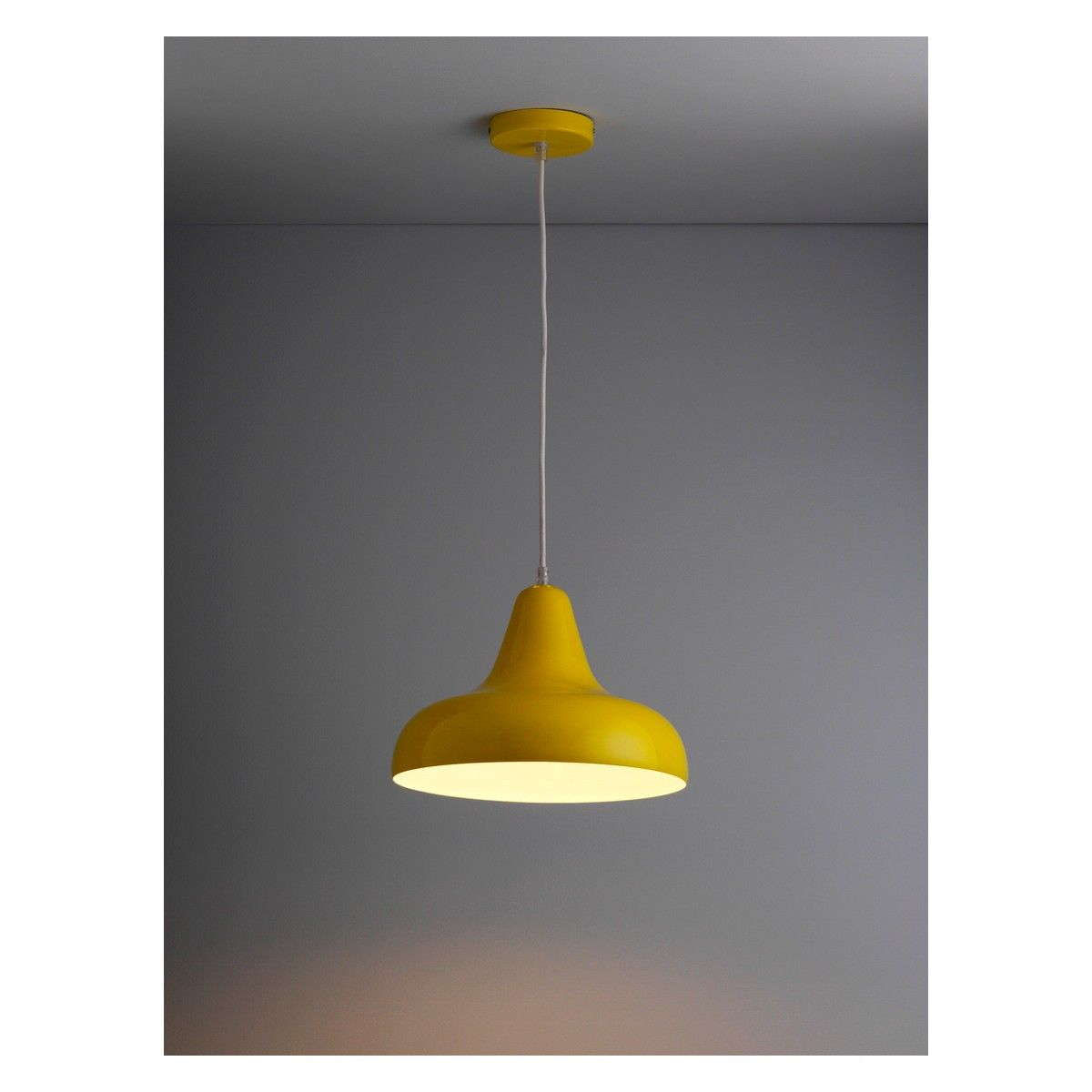 AERIAL Yellow metal ceiling light | Buy now at Habitat UK | For the ...