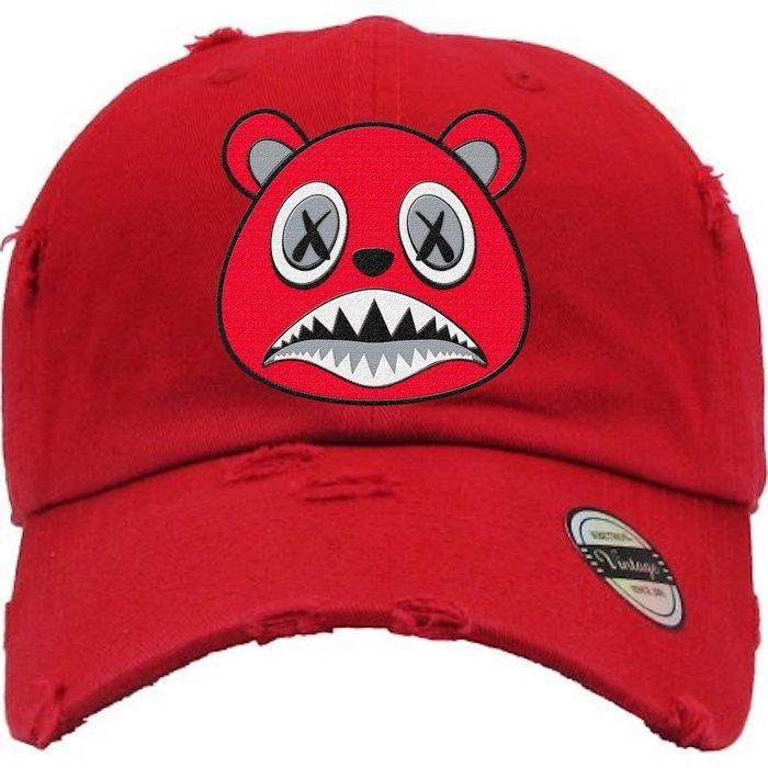 dd43d77f5959f Angry Baws Red Dad Hat - Jordan 11 Win Like 96