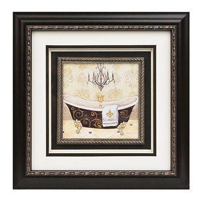 The Gentleman's Bathtub Framed Art Print