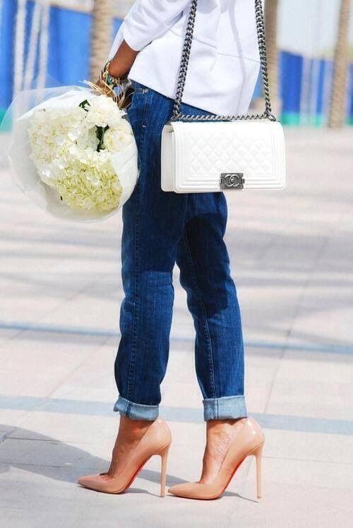 Jeans n heels