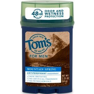 Toms of Maine Mens Mt Spring Antiperspirant Deodorant 225 OZ with Photos Prices  Reviews
