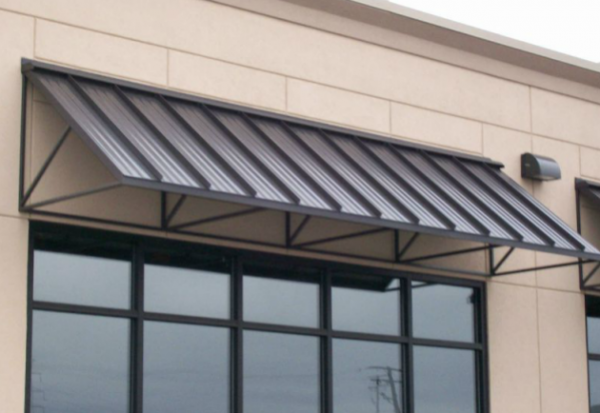 Metal Awnings Metal awning, Metal awnings for windows