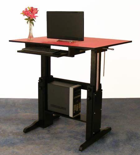 DIY Lift Desk DIY Standing Desk Pinterest Desks Desk Plans - Office table lift