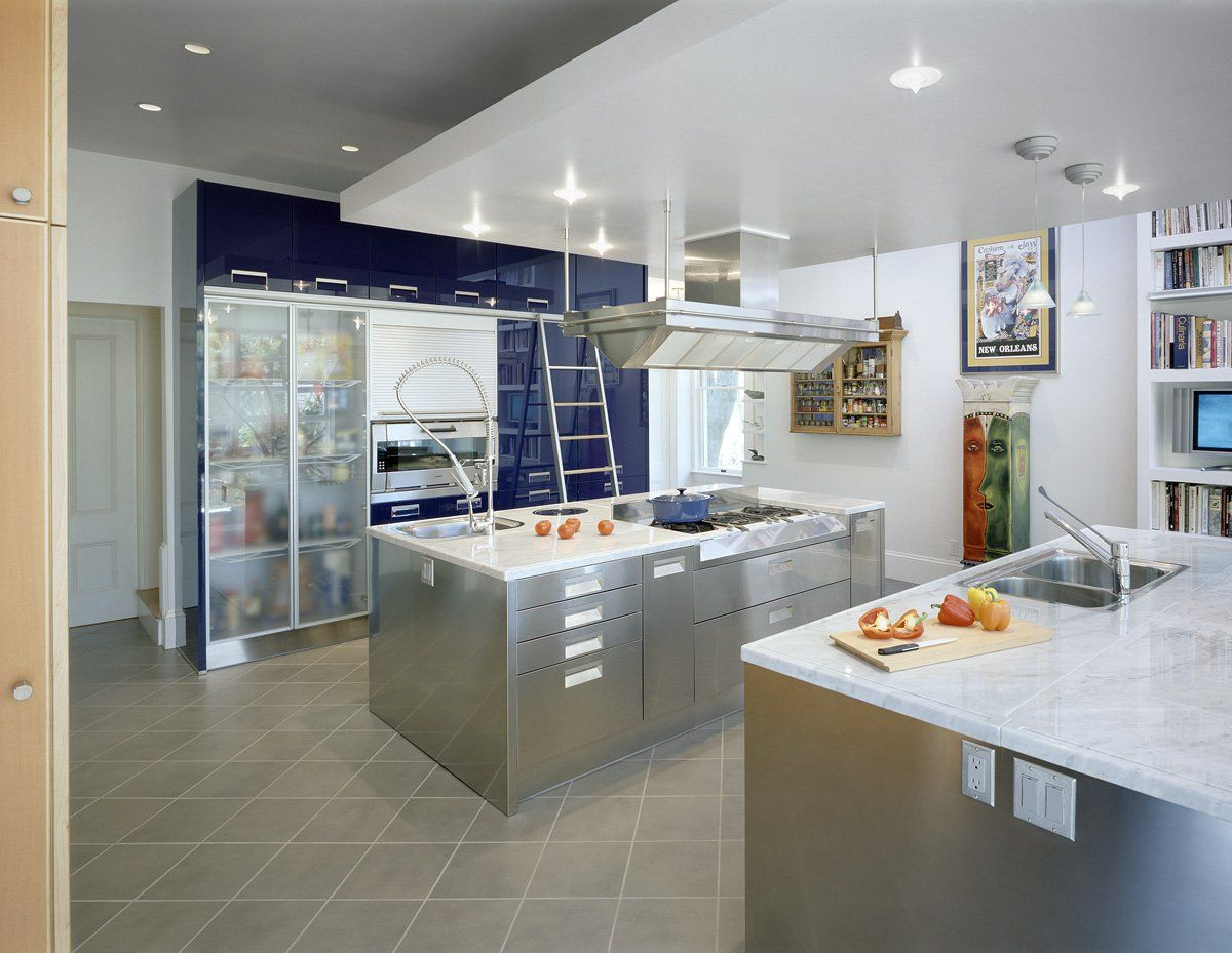 Chef S Kitchen Love The See Through Fridge Small Kitchen Kitchen Projects Kitchen