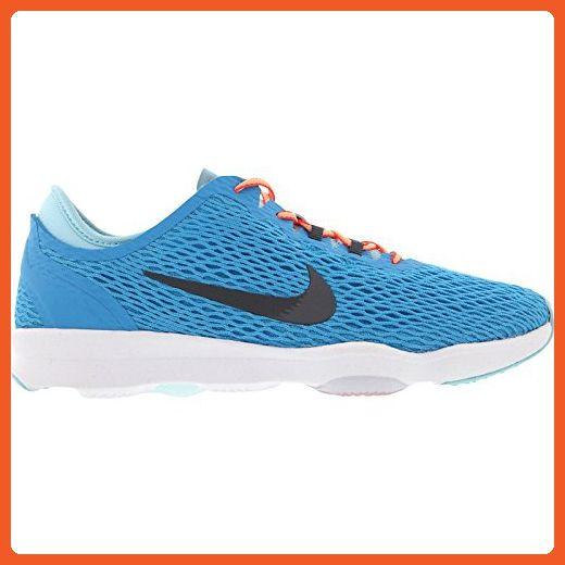 Nike Zoom Fit Women's Cross Training Shoes (11, BLUE LAGOON/COPA/WHITE