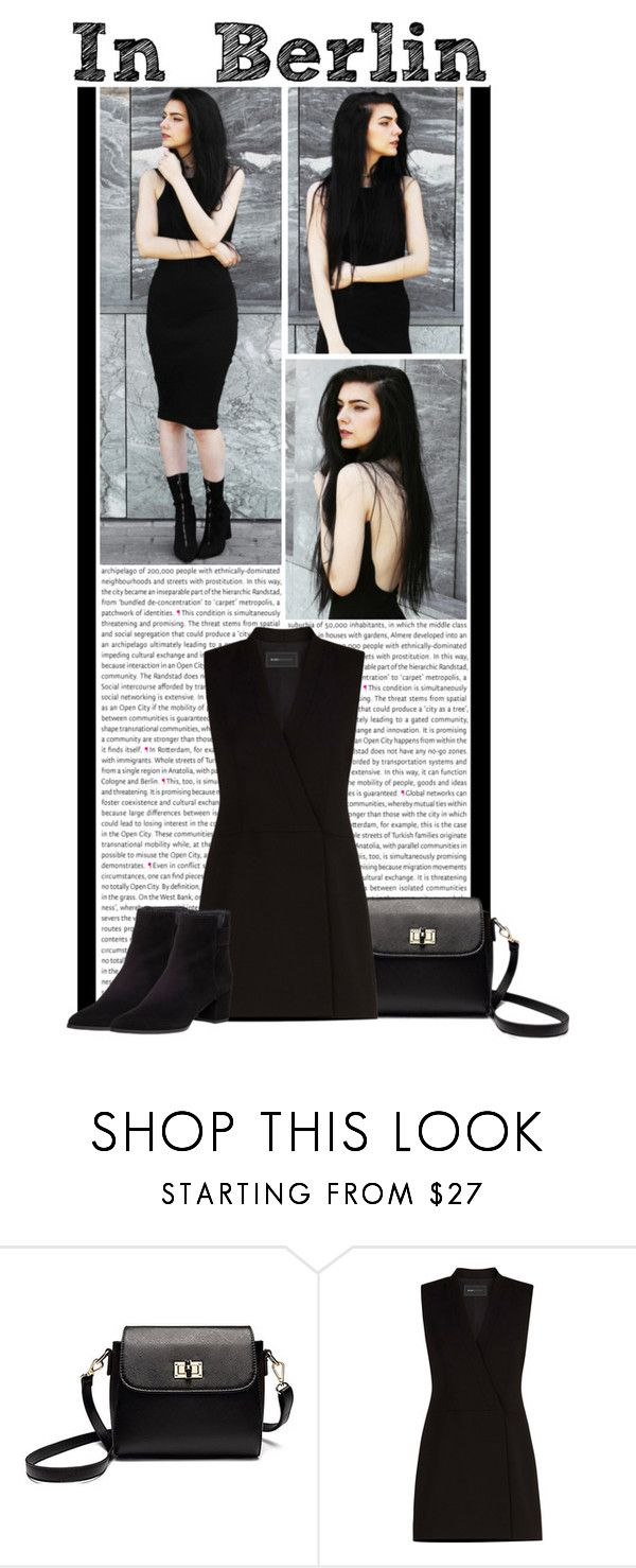 """""""#1283 (Street Style)"""" by lauren1993 ❤ liked on Polyvore featuring Oris, BCBGMAXAZRIA and Stuart Weitzman"""