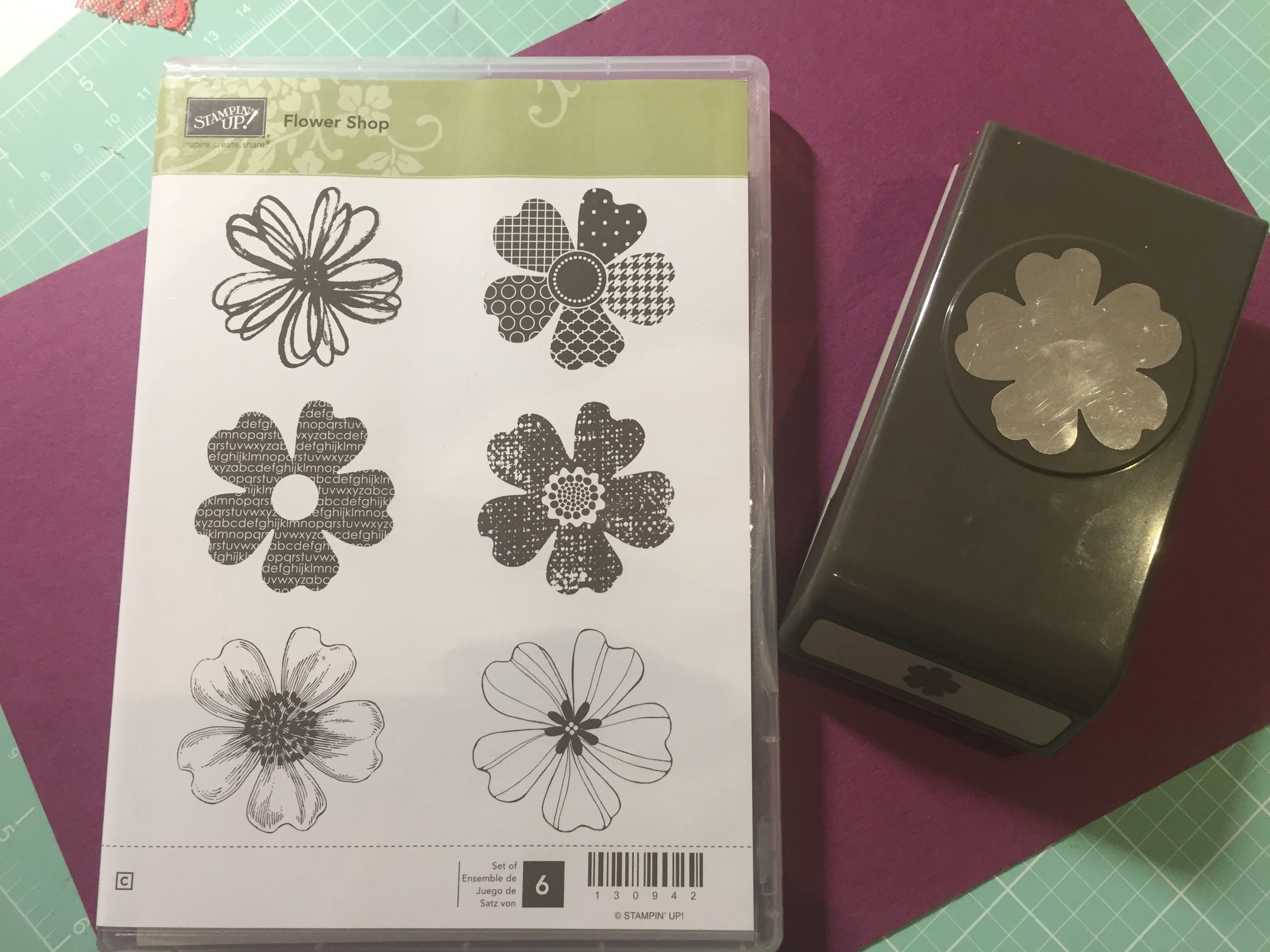 Stampin Up Flower Shop Stamp Punch Tip With Images Flower Shop Stampin Up Stamp