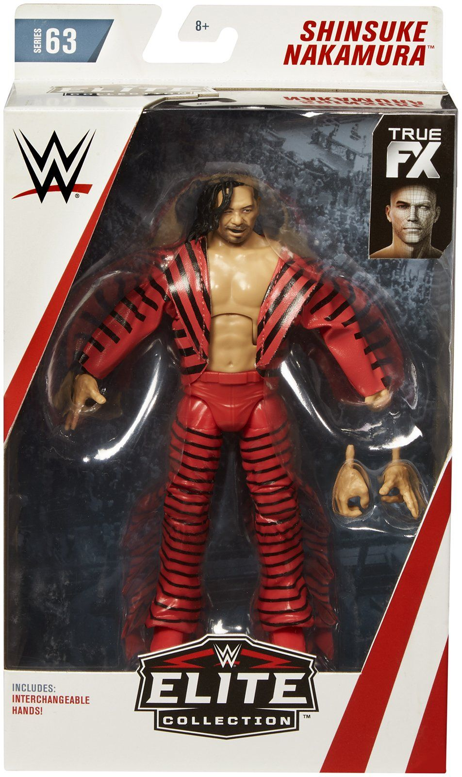 WWE Wrestling Zombies Shinsuke Nakamura Action Figure