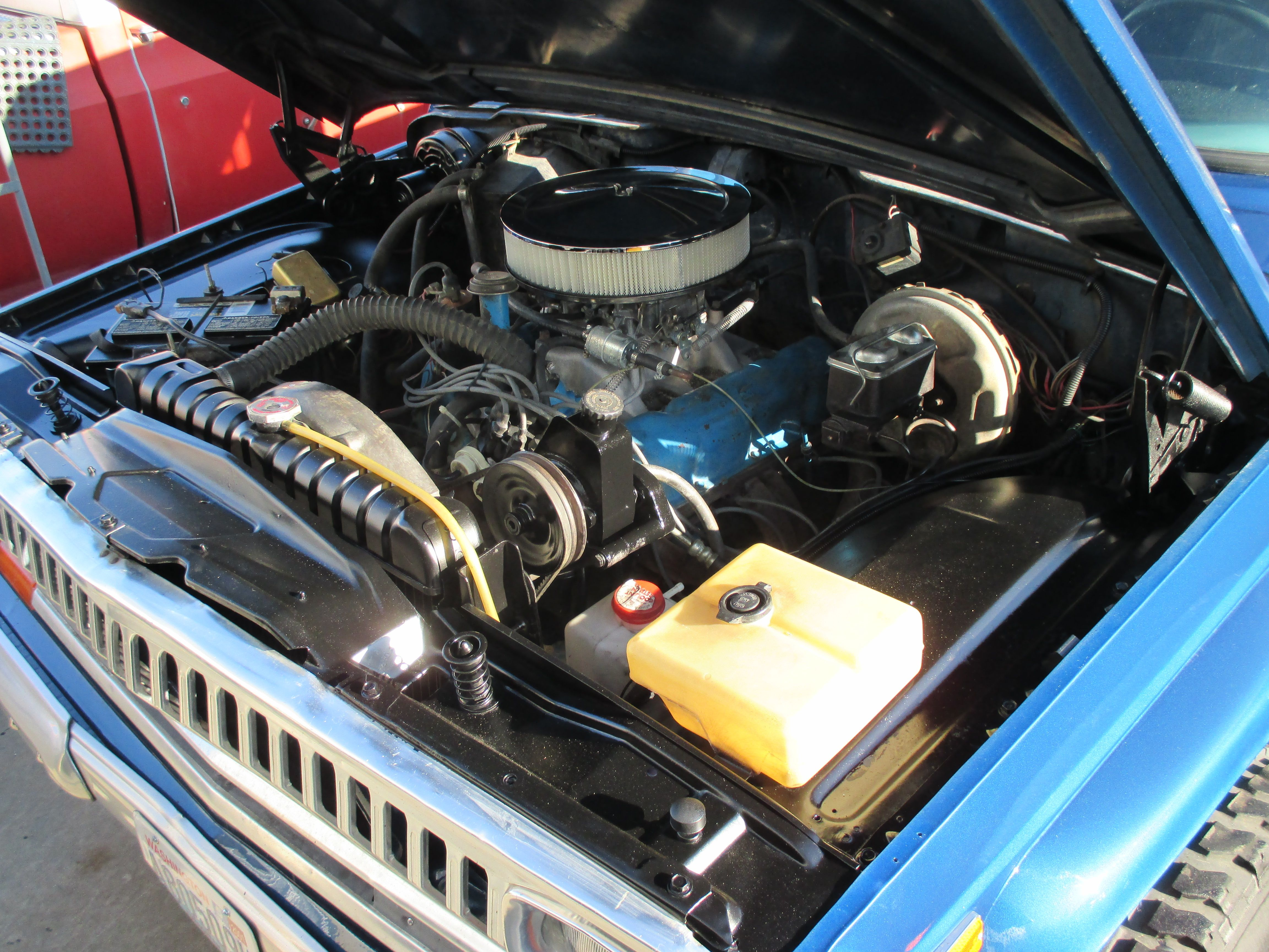 1976 Jeep J10 Engine Bay Restored By Hotrodsonny Jeep Wagoneer Jeep Truck Jeep