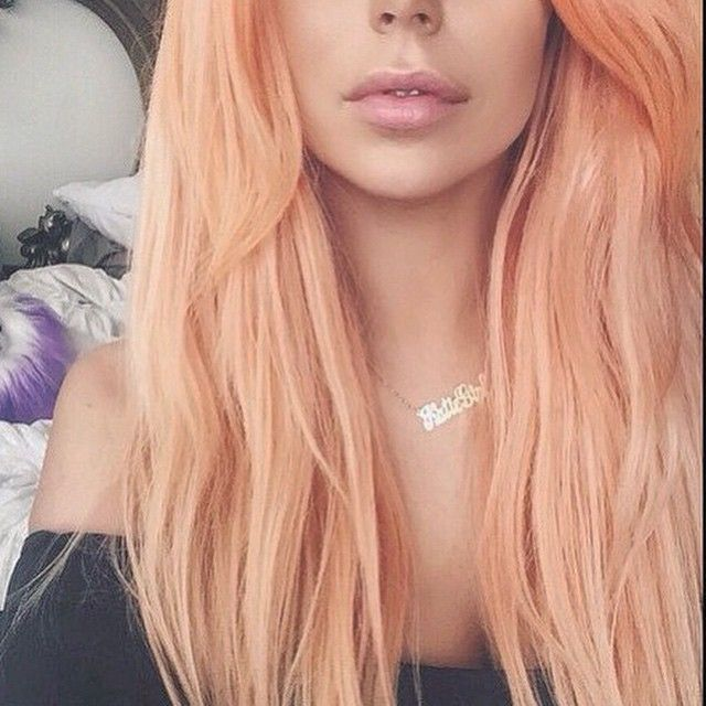 This Year 2015 Peach Hair Color Is Very Popular Many Women Try
