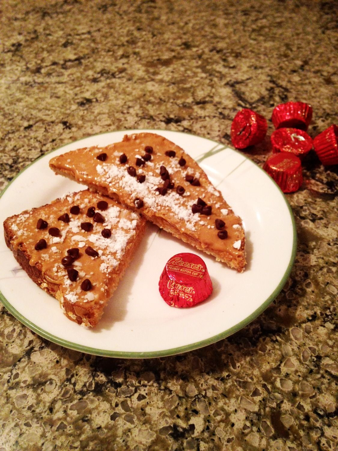 Reese's Toast: A yummy and more nutritous alternative!