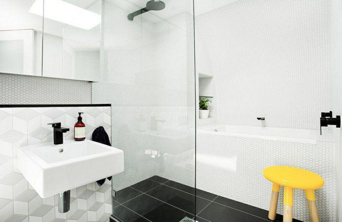 Wandgestaltung Ideen für individuelle und gehobene Badgestaltung - badezimmer einrichten ideen