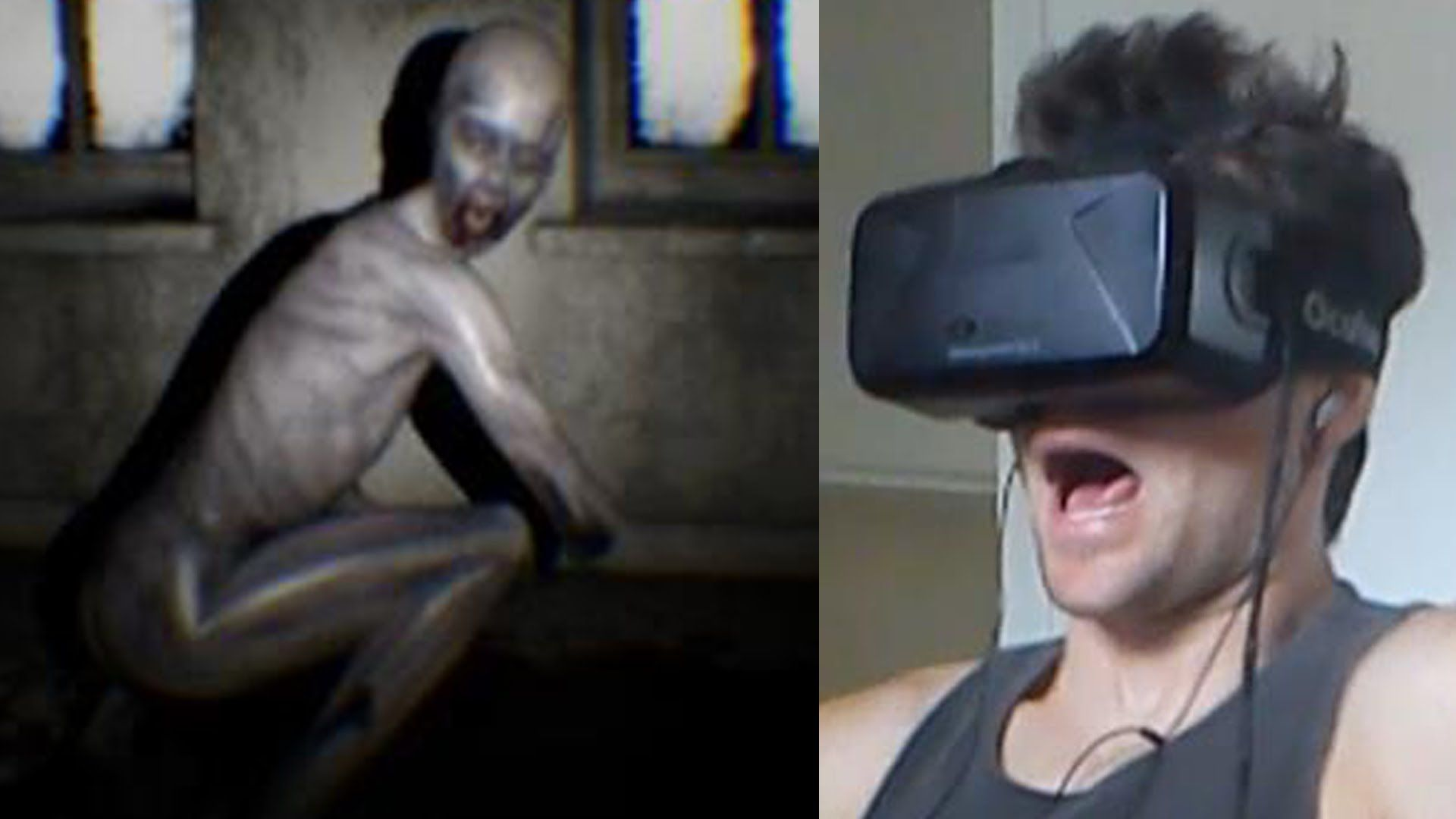 Oculus Rift Horror Gameplay