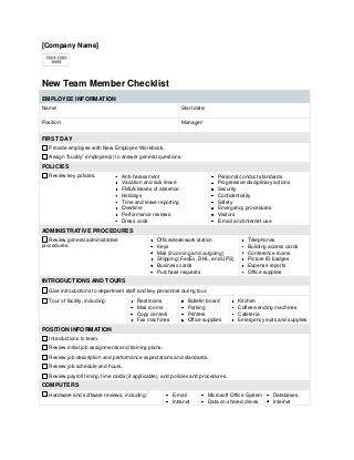 New Employee Check List Medical Coding Jobs Coding Jobs