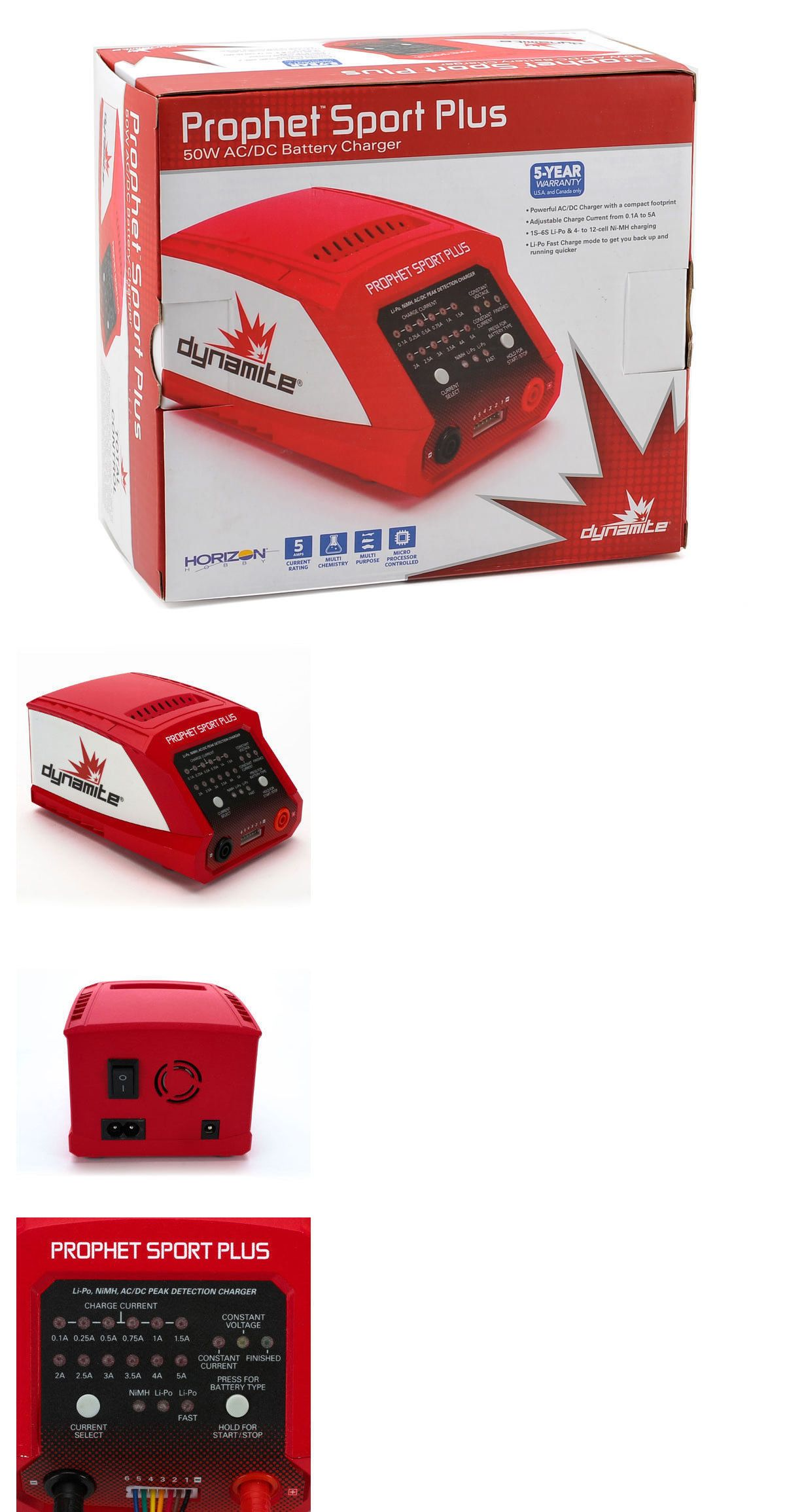 Hexfly HX-705 NIMH Fast Battery Charger up to 5A Charge Rate