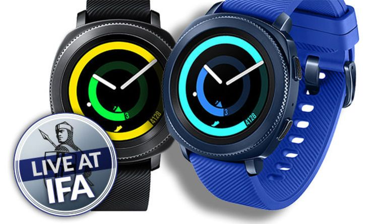 sporttechnology Samsung Gear Sport REVEALED Digital