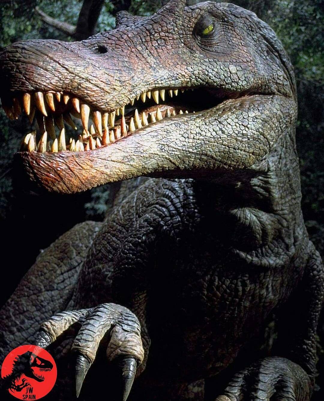 Animatronic Spinosaurus Jurassic Park 3 spinosaurus