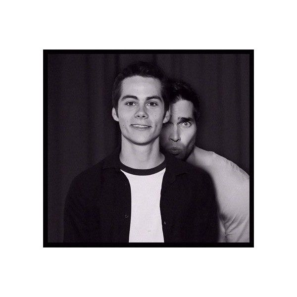 Sterek/Hobrien ❤ liked on Polyvore featuring teen wolf