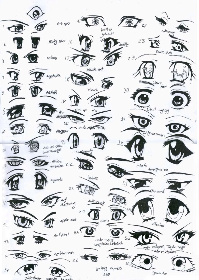 How 2 Draw Anime Eyes How To Draw Anime Eyes Female Anime Eyes Anime Eyes