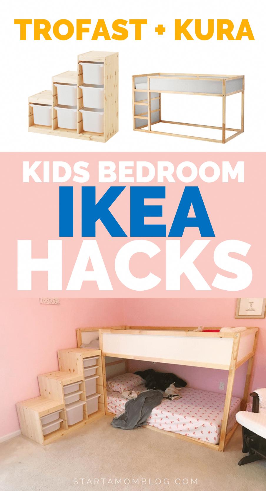 Ikea Hacks For Kids Bedroom Trofast And Kura Ikea Hack For Kids