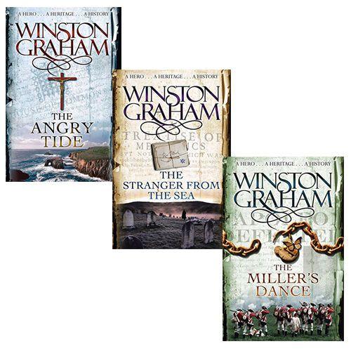 Winston Graham Collection Poldark Series Books 7 8 9 3 Books Set