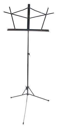 West Music Wire Music Stand with Bag (black) - http://www.rekomande.com/west-music-wire-music-stand-with-bag-black/