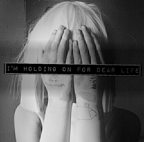 i\'m holding on for dear life | Calling All Angels | Pinterest ...