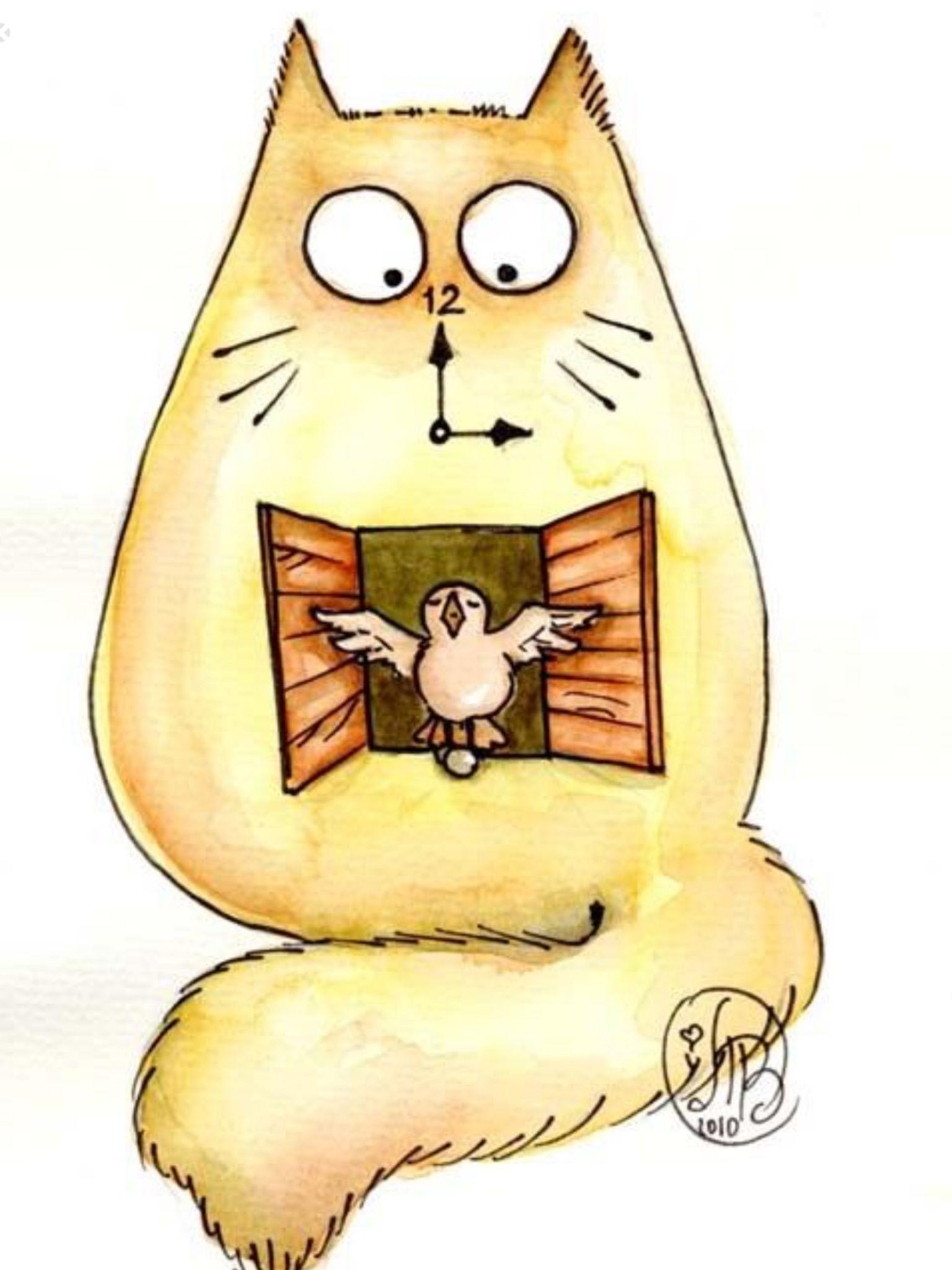 Pin by Desray Viljoen on Раскраски Cats illustration