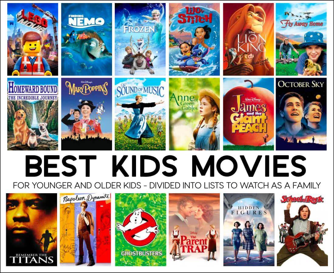 Best Kids Movies Best kid movies, Kids' movies, Kids