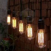 Found it at Wayfair Australia - Thomas Edison Vintage Light Suspension Cord with Bulb