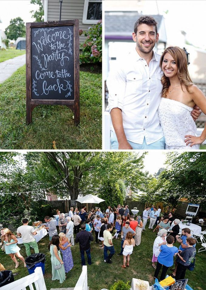 Backyard Wedding Planning Engagement Parties #engagementparty