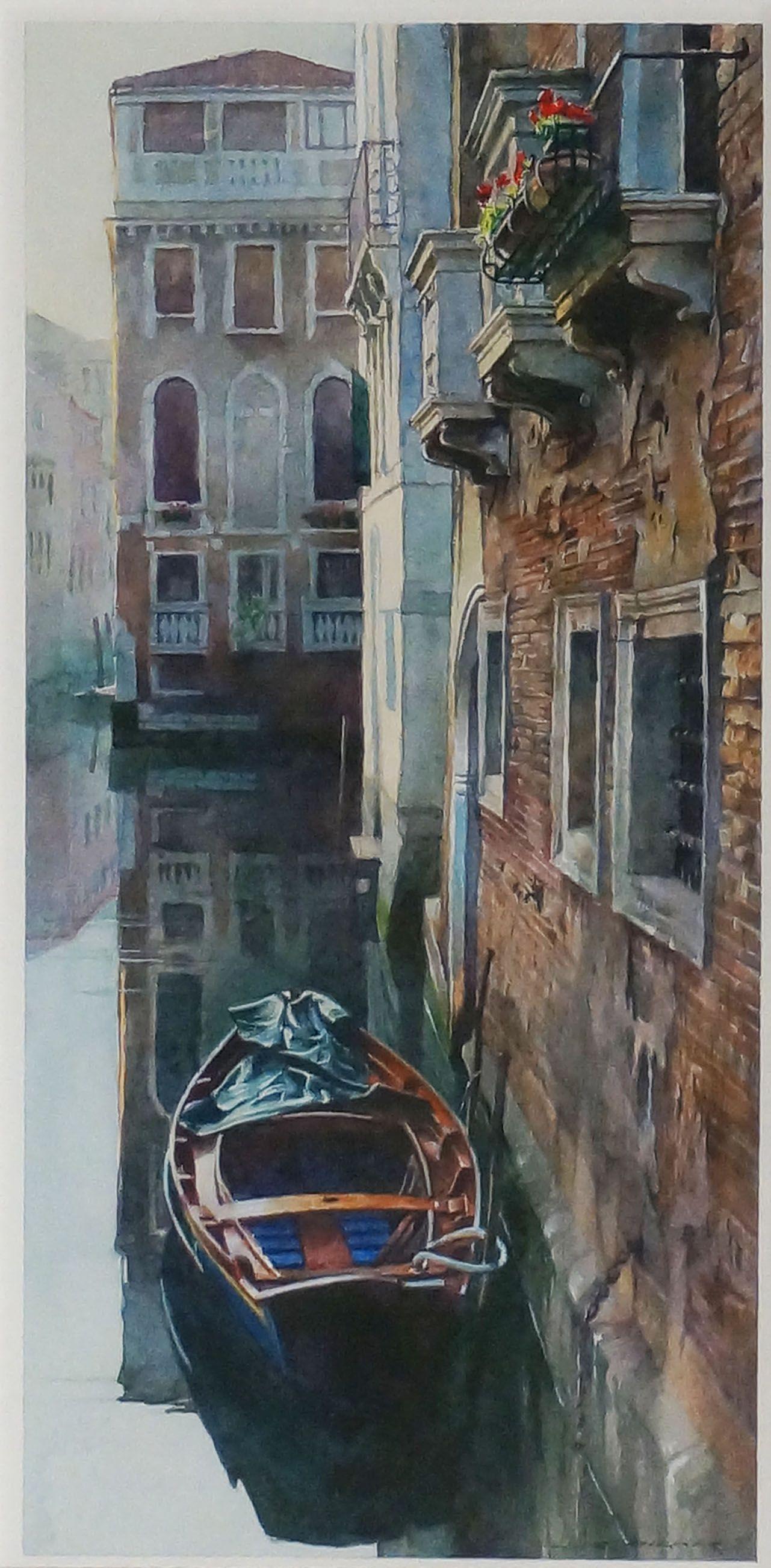 Venice Canal by Stan Miller | J-Art Gallery