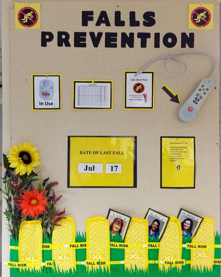 Falls prevention board for nursing nursing pinterest