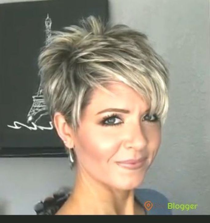 99 Beautiful Women Short Hairstyles Ideas For Fine Hair To Try Short Hair Styles Short Sassy Haircuts Short Sassy Hair