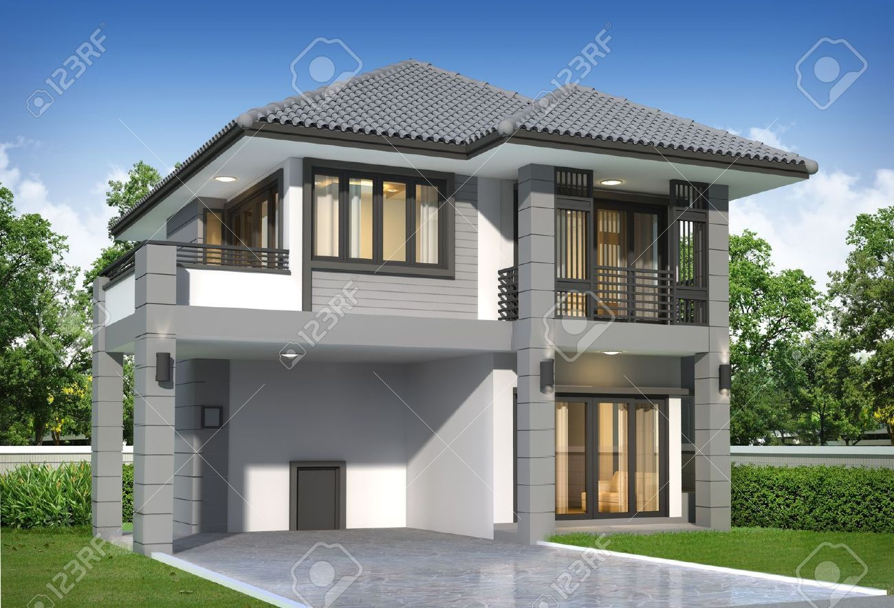 Grey rendered house google search house exterior for Home design outside look
