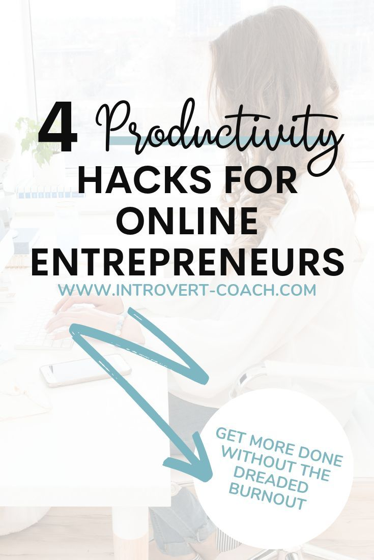 4 Productivity Hacks for Online Entrepreneurs is part of Online entrepreneur, Small business tips, Importance of time management, Time management, Entrepreneur, Business tips - 4 productivity hacks for the online entrepreneurs  You create your own schedule and work for yourself but it's important to not just be busy, but to be productive